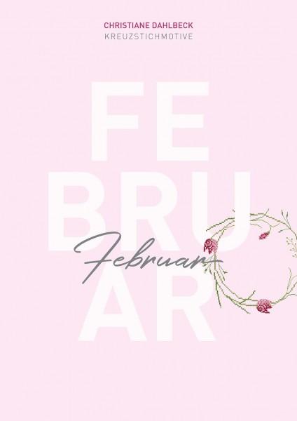 Leaflet Februar, Kreuzstichmotive