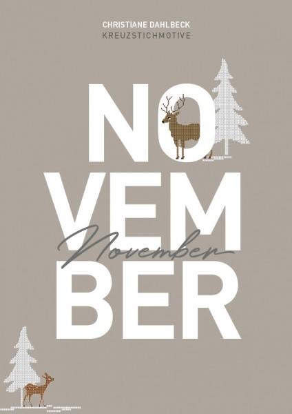 Leaflet November, Kreuzstichmotive