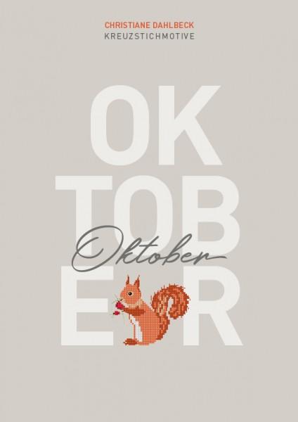 Leaflet Oktober, Kreuzstichmotive