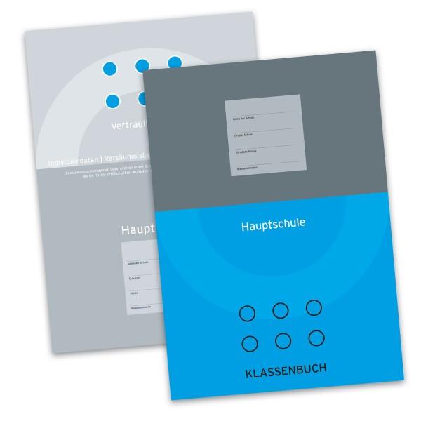 Klassenbuch für die Hauptschule (Hellblau) inkl. Vertraulicher Teil