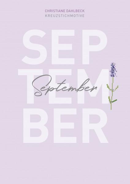 Leaflet September, Kreuzstichmotive