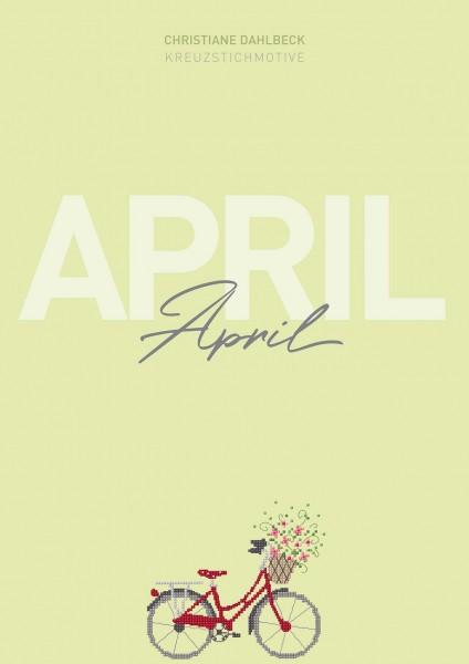 Leaflet April, Kreuzstichmotive